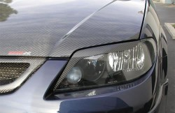 Carbon Fiber Eyelids for Protege