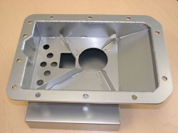 Deep Sump Oil Pan shown without AN style connectors