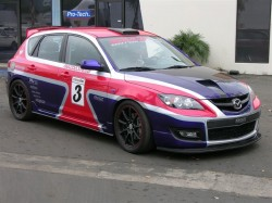 DG Motorsports - AWR RACING AWD MAZDASPEED3