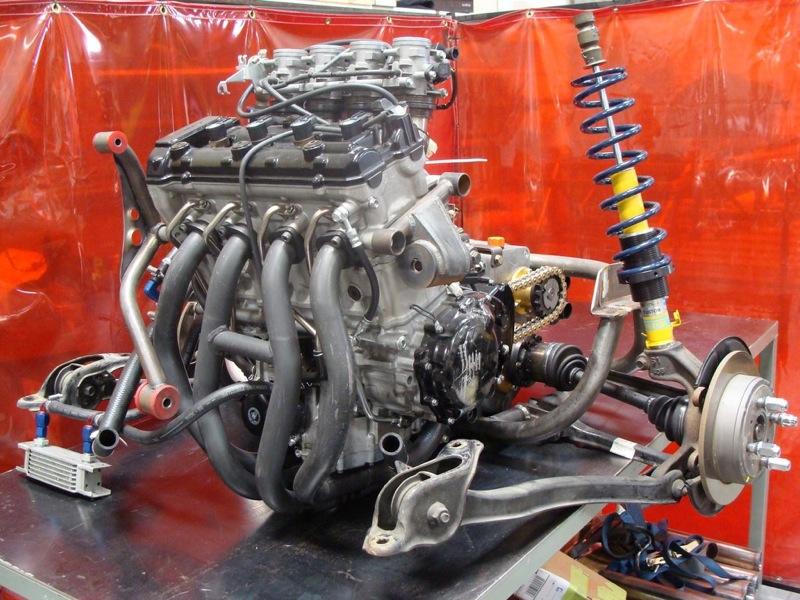 Hayabusa Engine Swap Images