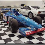 Don't scratch my Benetton with that Ferrari!