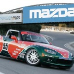 On March 23rd 2005, Mazda North American Operations (MNAO) unveiled the next generation of Spec Miata at the New York International Auto Show  AWR was happy to help Mazda with this project by fabrication and installing a new rollbar.