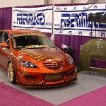 AWR Sponsored Fiber Images Mazda3 for SEMA Show