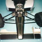 Photo of the front suspension