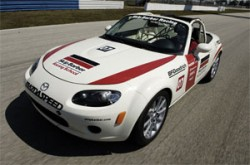 Skip Barber uses MX-5 in School