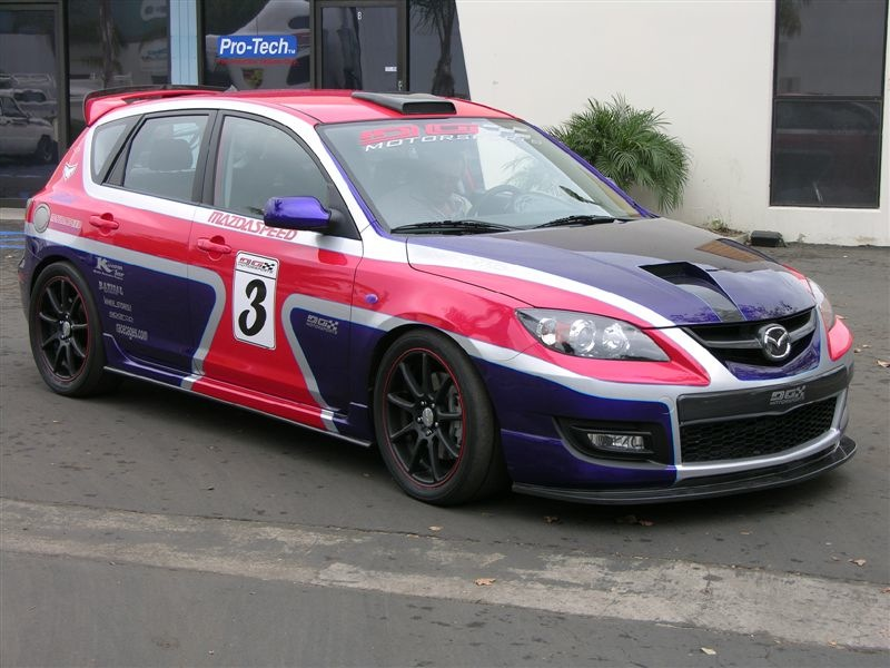All Wheel Drive Mazdaspeed3 Rallye Car Concept Awr