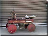 Engine powered Radio Flyer Wagon