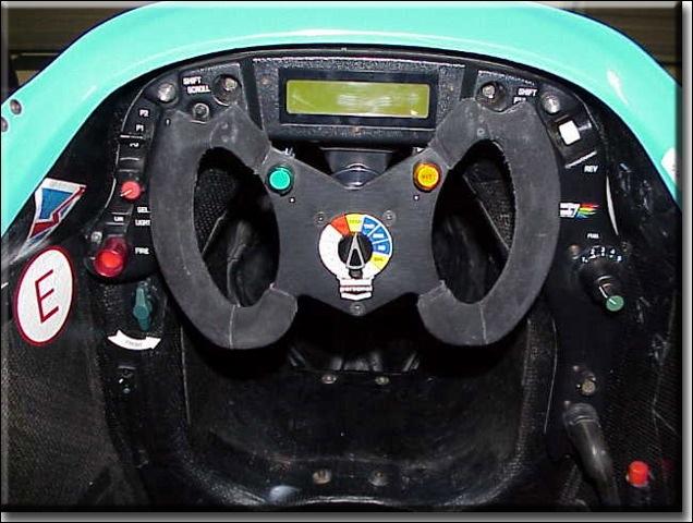 awr racing benetton formula 1 car owned by doug mercier