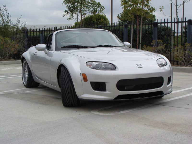 AWR Racing - 1st Gen Miata Wide Body Kit with Racing Beat Bumpers